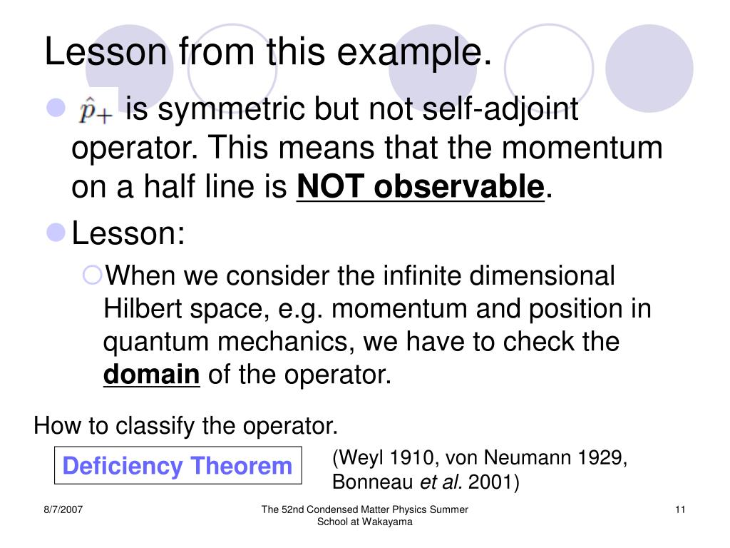 PPT - Quantum Measurement Theory on a Half Line PowerPoint
