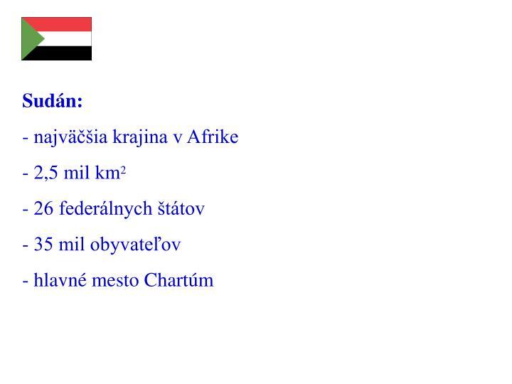 Sudán: