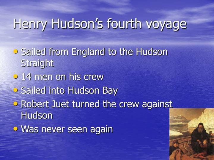 Henry Hudson's fourth voyage