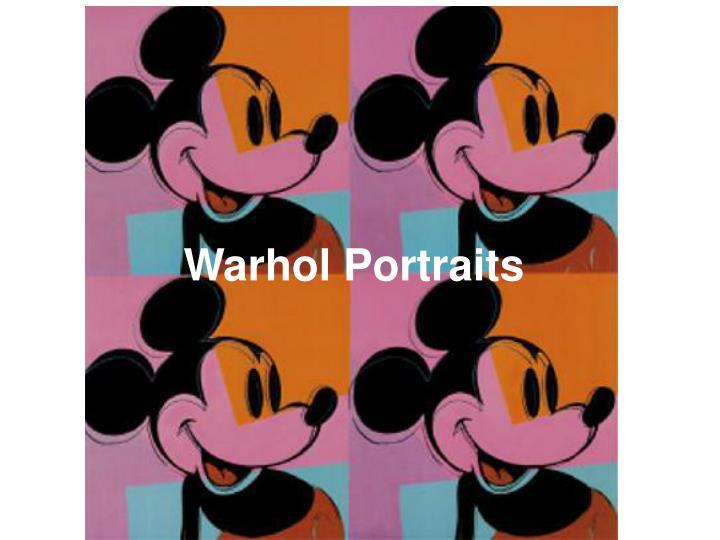 Warhol Portraits