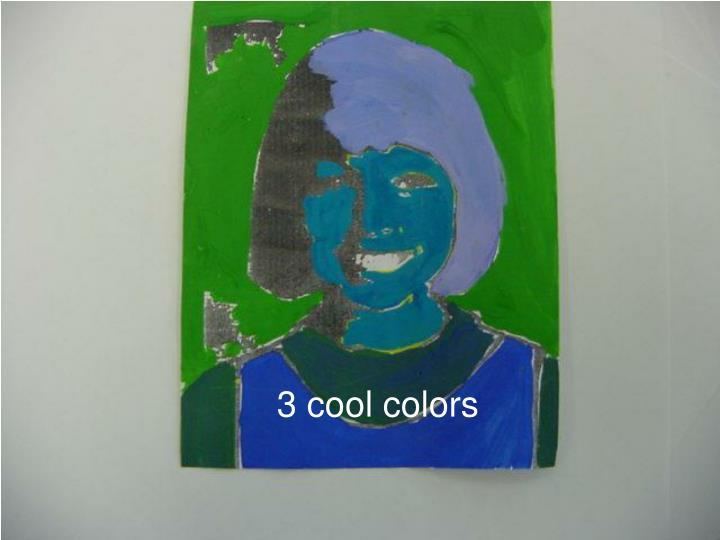 3 cool colors