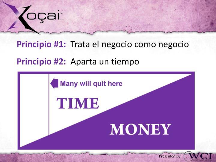 Principio #1: