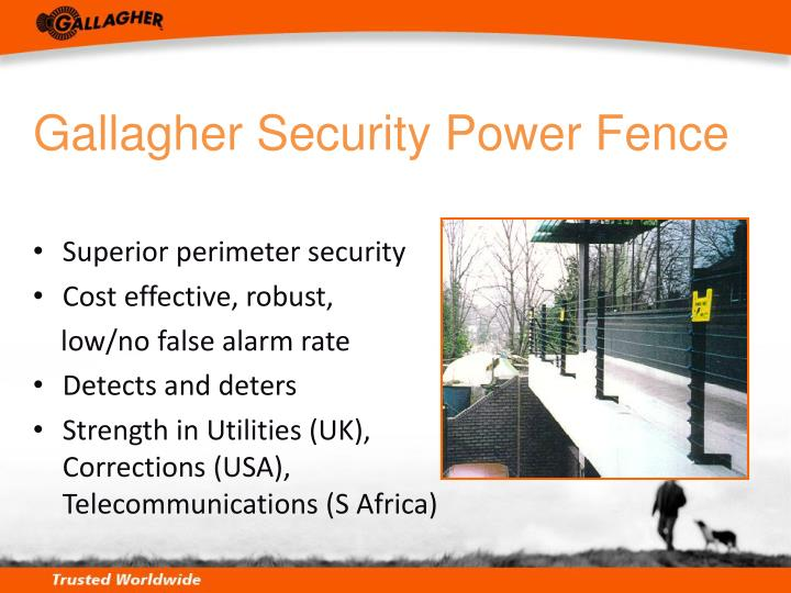 Gallagher Security Power Fence