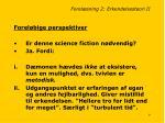 forel sning 2 erkendelsesteori ii7
