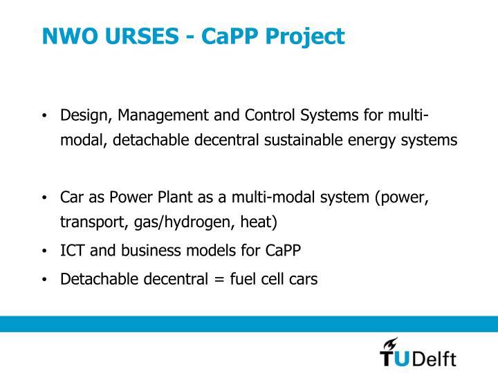 NWO URSES - CaPP Project