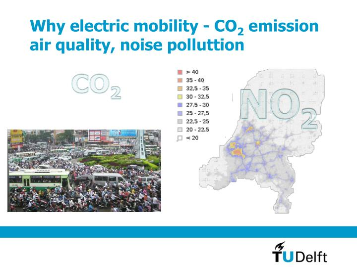 Why electric mobility - CO
