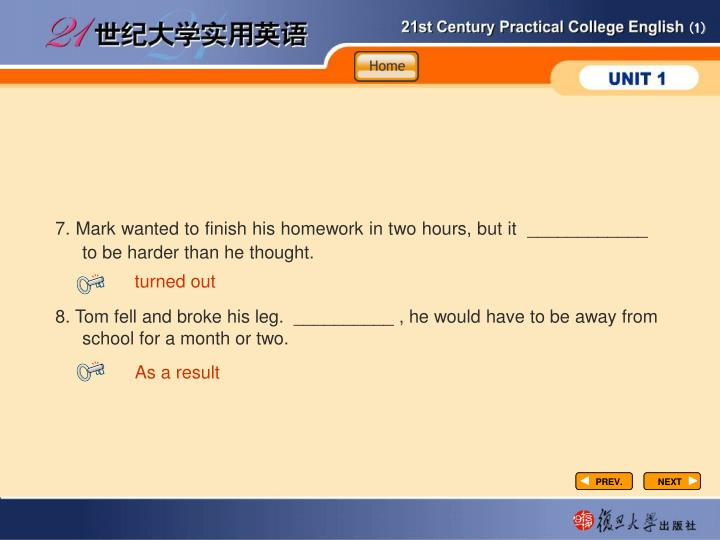 Vocabulary-Fill in2-3
