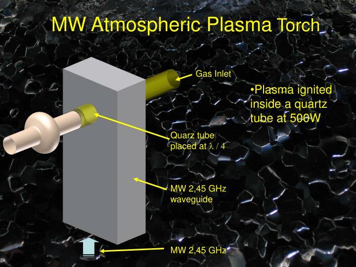MW Atmospheric Plasma
