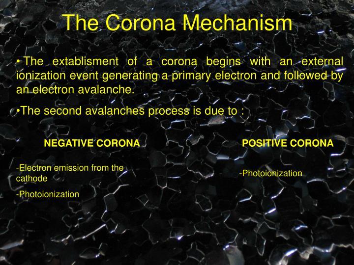 The Corona Mechanism