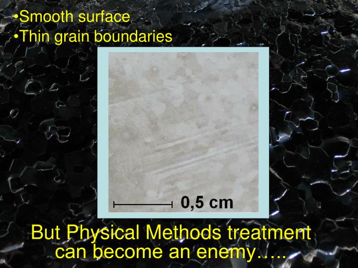 Smooth surface