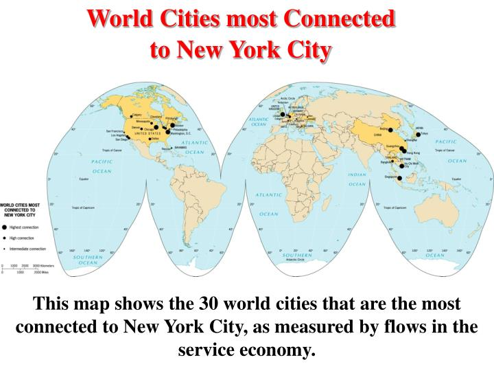 World Cities most Connected
