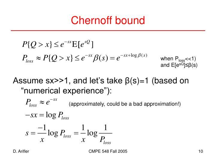 Chernoff bound