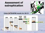 assessment of eutrophication1