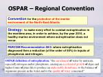 ospar regional convention