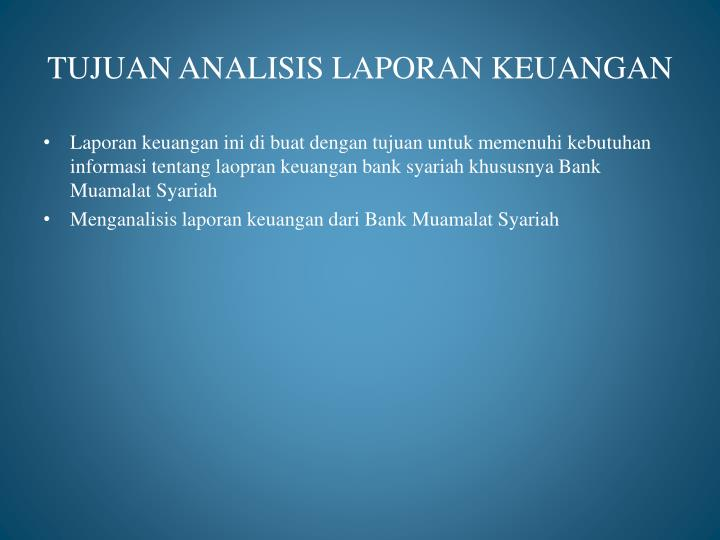 laporan keuangan bank lippo Mochtar riady started out in the business world at the age of 22 working in a bicycle shop lippo was established in the 1950's and today, we are indonesia's largest services group with a dominant presence across the archipelago, serving more than 80 million people each year.