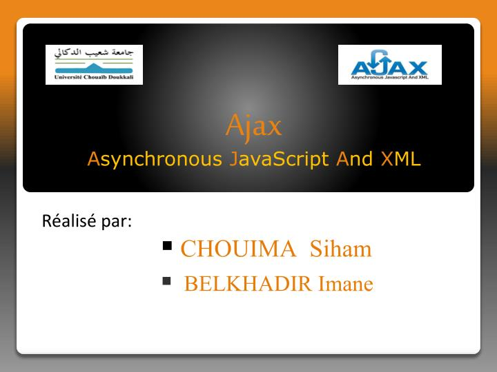 ajax a synchronous j avascript a nd x ml n.