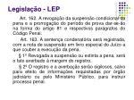 legisla o lep3