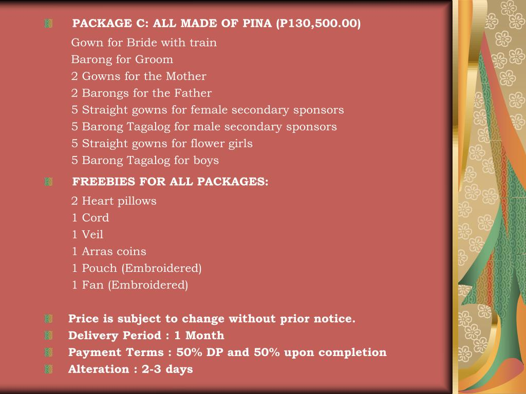 PPT - Barong Tagalog PowerPoint Presentation - ID:5100818