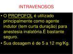 intravenosos