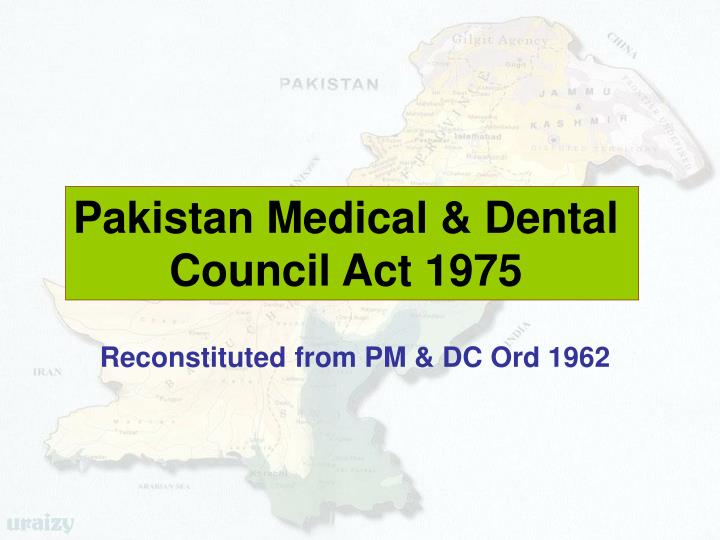 Pakistan Medical & Dental