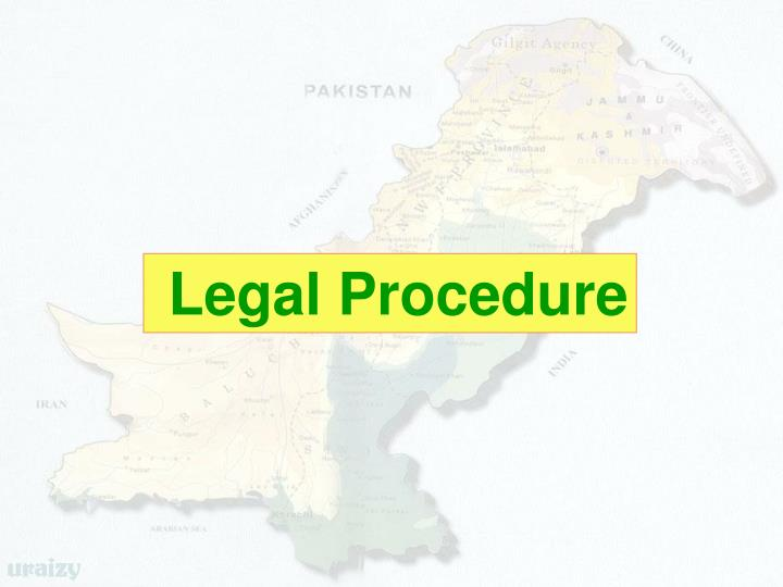 Legal Procedure