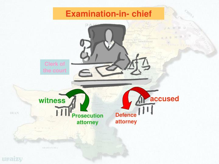 Examination-in- chief