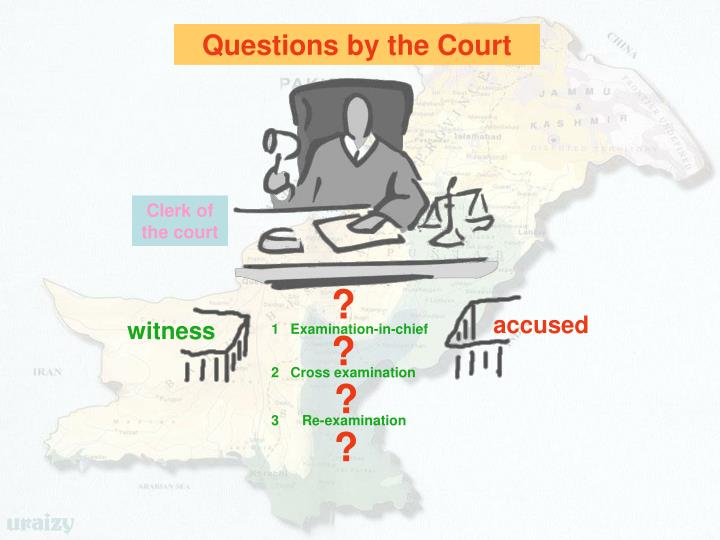 Questions by the Court