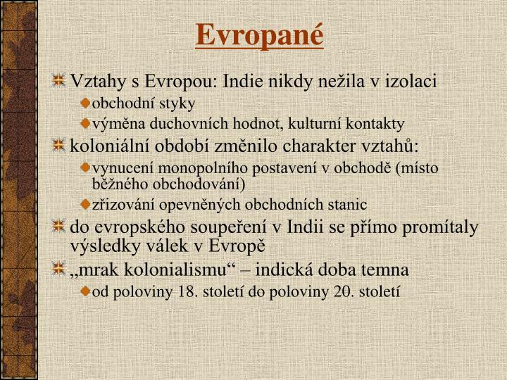 Evropané