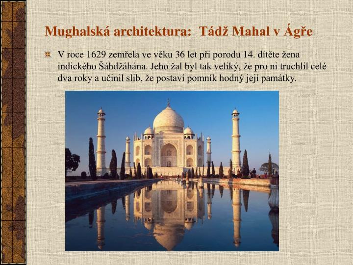 Mughalská architektura: