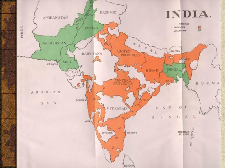 Rozdělení Indie