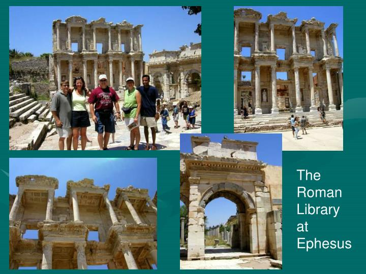 The Roman Library at Ephesus