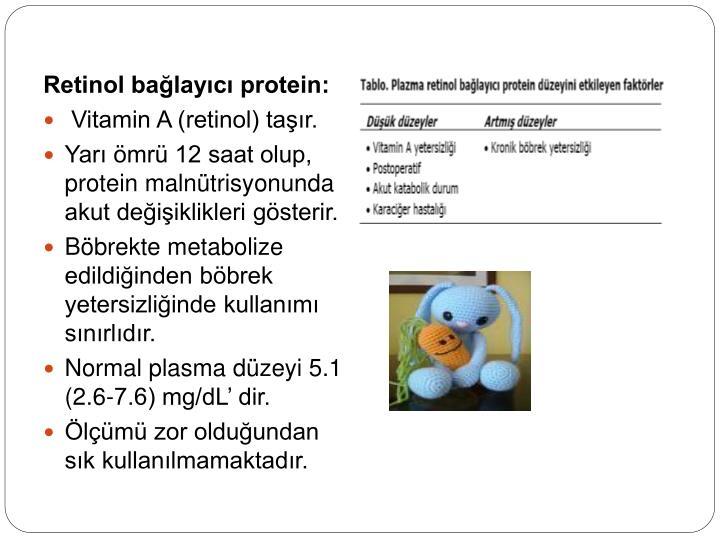 Retinol bağlayıcı protein: