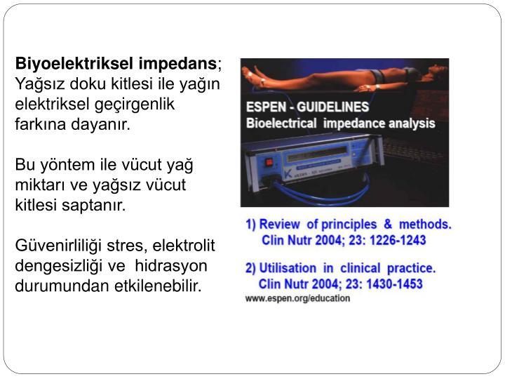 Biyoelektriksel impedans