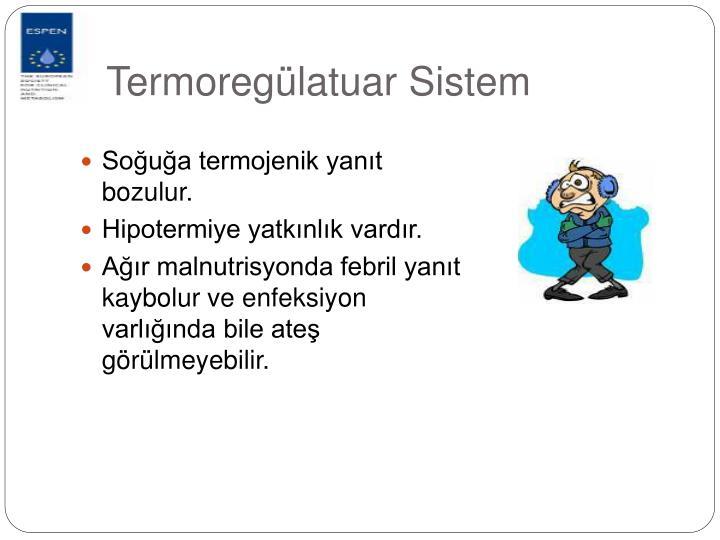 Termoregülatuar Sistem