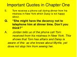 important quotes in chapter one