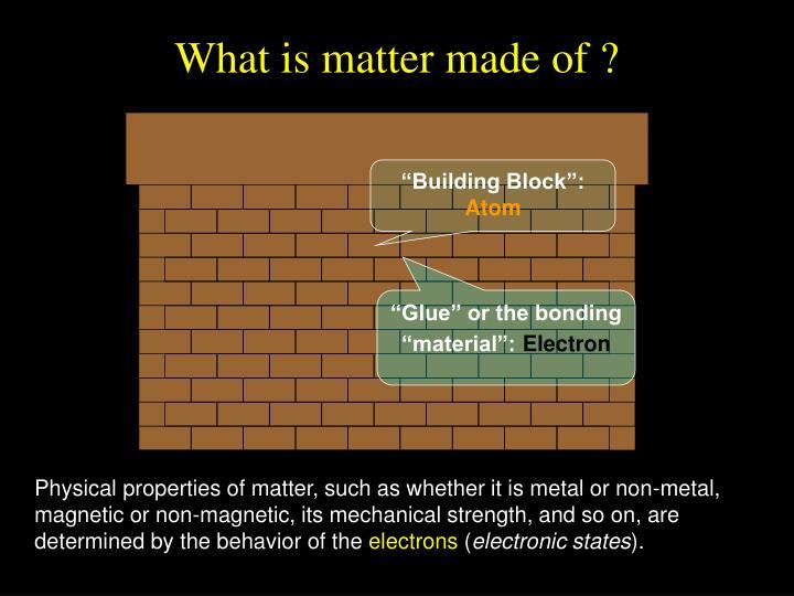 """Building Block"":"