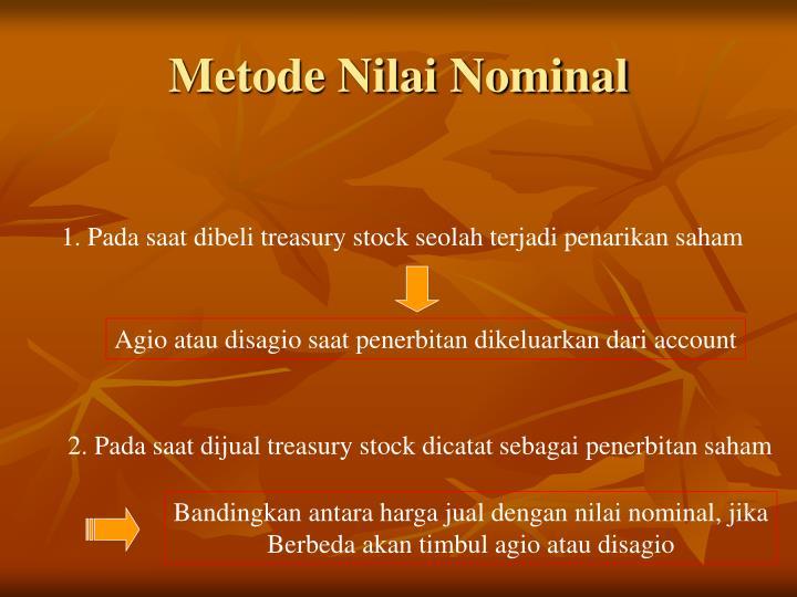 Metode Nilai Nominal