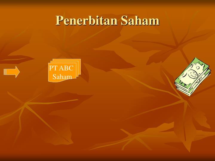 Penerbitan Saham