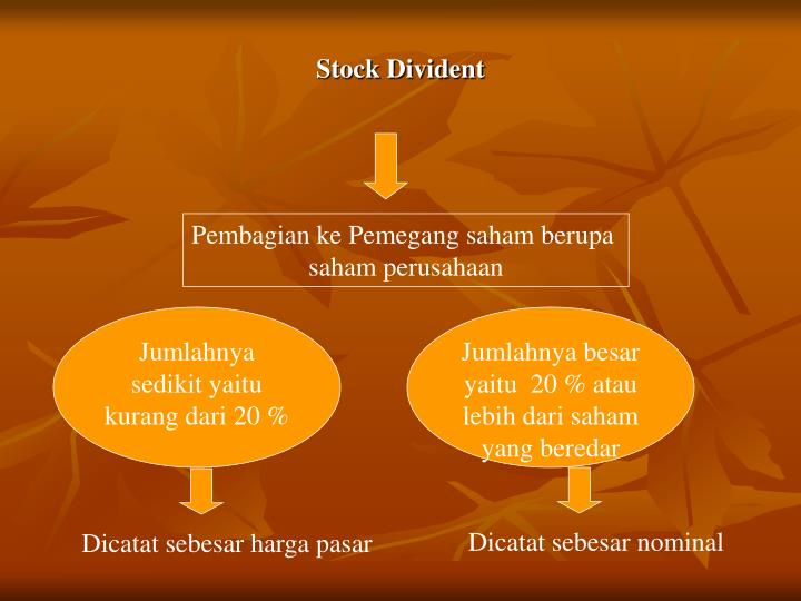 Stock Divident
