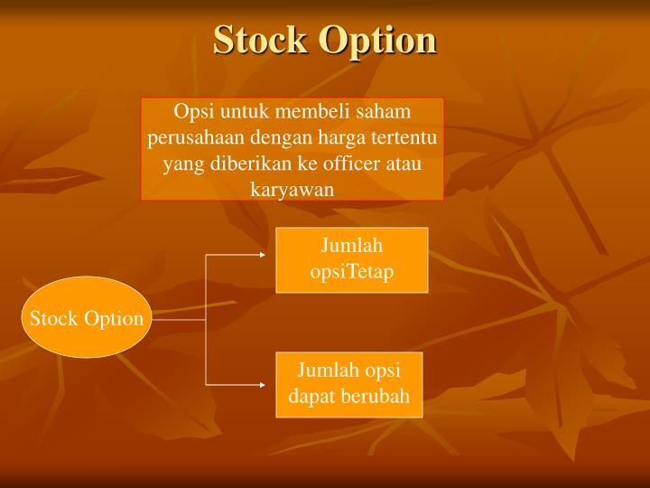 Stock Option
