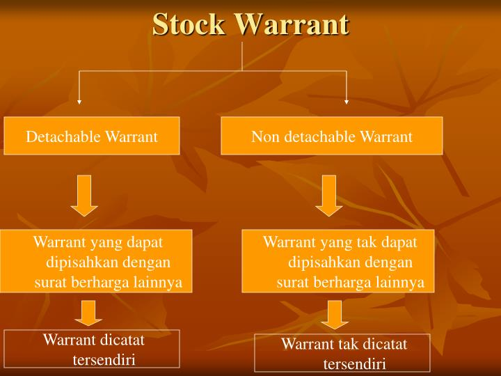 Stock Warrant