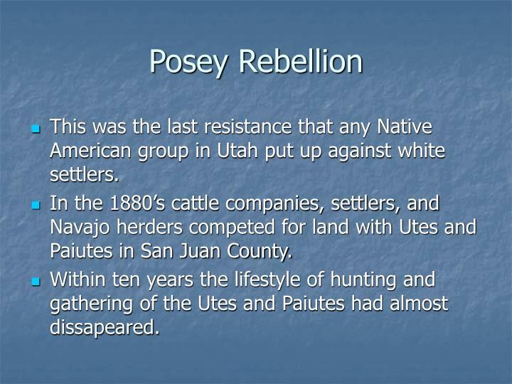 Posey Rebellion