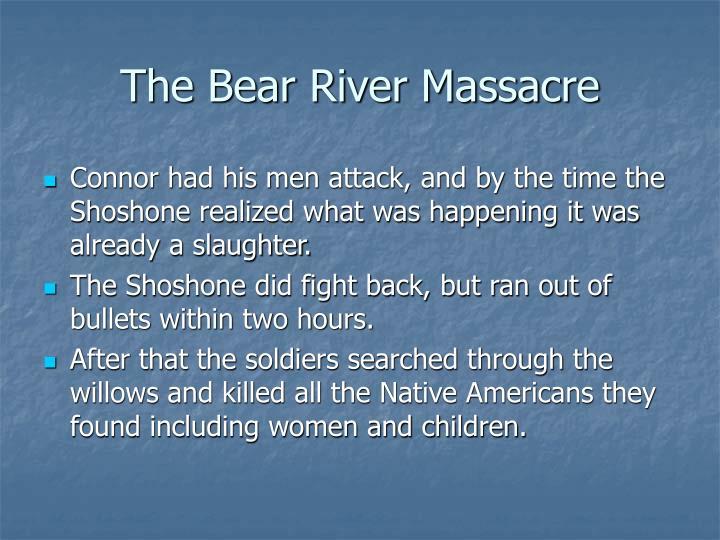 The Bear River Massacre