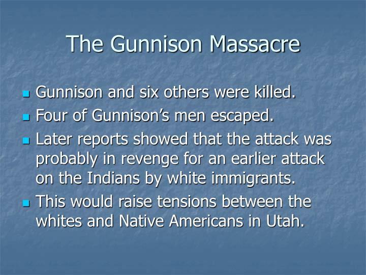 The Gunnison Massacre