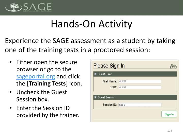 Hands-On Activity