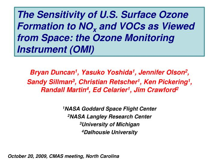 The Sensitivity of U.S. Surface Ozone Formation to NO