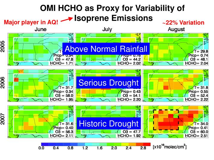 Above Normal Rainfall