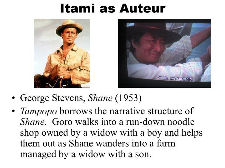 Itami as Auteur