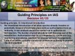 guiding principles on ias decision vi 23