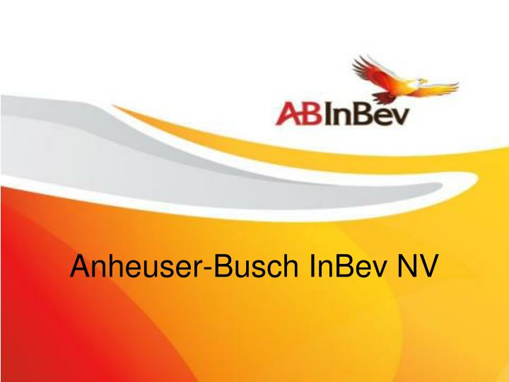 anhauser busch balanced score card Anheuser-busch inbev anheuser-busch inbev income statement (quarterly) export data format (quarterly no credit card required.